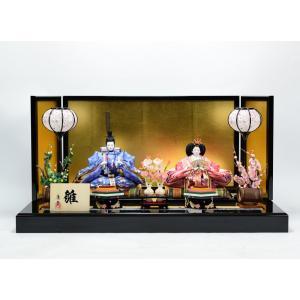 雛人形 【親王飾り】 ひな人形 「芥子親王」|hinanokoei