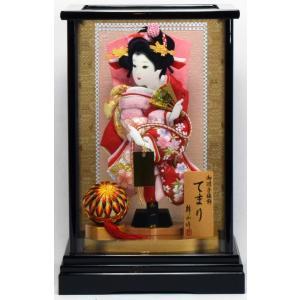 羽子板飾り Y8号 てまり(B)×28Y-7 匠一光作 hinanokoei
