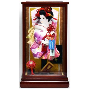 羽子板飾り 10号 華麗 × 14-15  hinanokoei