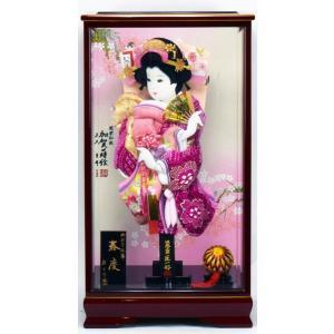 羽子板飾り 15号 春慶 × 刺繍大桜 匠一光作 hinanokoei