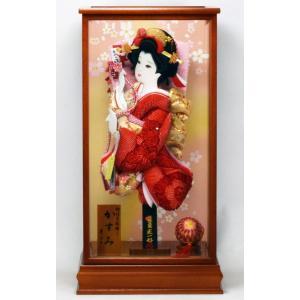 羽子板飾り 15号 かすみ(B) × 花の舞 匠一光作 hinanokoei