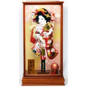 羽子板飾り 15号 かすみ(B) × 逸品作 匠一光作 hinanokoei