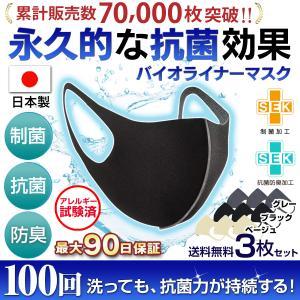 マスク 日本製 洗える 洗えるマスク 抗菌 大きめ 小さめ メンズ レディース 子供 男性用 男性 女性用 高性能 抗ウイルス 抗菌マスクの画像