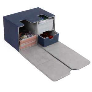 デッキケース トレーディングカードケース (レザー調) マグネット付き カードゲーム デッキ ケース...