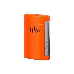 S.T Dupont デュポン ターボライター(内燃式ガスライター) MINIJET MINIJET ミニジェット 喫煙具  コーラルオレンジ ワイルドレッド 10509 10510|hinohikari-ii