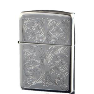 ZIPPO ジッポーライター オイルライター スターリングシルバー(純銀) アラベスク 15-184985|hinohikari-ii