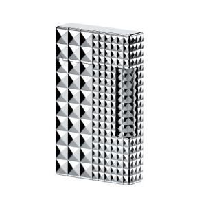 S.T.Dupont エステー デュポン ライター  LIGNE 2  シルバー  ダイアモンドヘッド  パラディウム プレゼント お祝い 記念日16066|hinohikari-ii