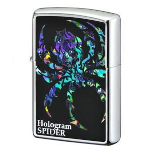 ZIPPO ジッポーライター ホログラム スパイダー 蜘蛛 プレゼント 贈り物|hinohikari-ii