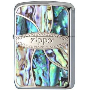 ZIPPO ジッポーライター Shell Inlay シェルインレイ 41M-ZSHELL オイルライター|hinohikari-ii