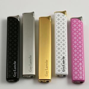 ギラロッシュ Guylaroche 電子式ライター スリム GL02 小物 日本製 ラッカー メンズ レディースライター 海外からお取り寄せ|hinohikari-ii