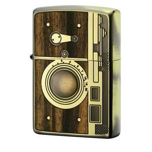 ZIPPO ジッポー オイルライター アンティーク SLR カメラ BS 真鍮 1201S563 hinohikari-ii