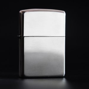 ZIPPO ジッポー オイルライター 純銀 (スターリングシルバー)#15 ラウンドトップ ミラー仕上げ|hinohikari-ii