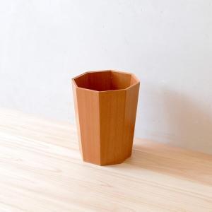 8角屑入れ|hinoki-craft