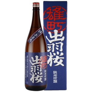 出羽桜 純米吟醸 雄町 1800ML 山形県産地酒|hinokinosato