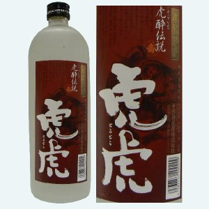 千代寿 虎酔伝説 虎虎 25度 720ML【山形県産本格焼酎】|hinokinosato