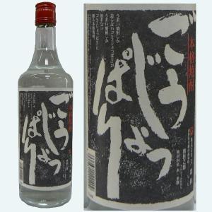 六歌仙 米焼酎「ごうじょっぱり」25度 720ML【山形県産本格焼酎】|hinokinosato