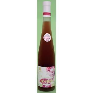 朝日町ワイン アイスエッセンス「氷の妖精」ロゼ 375ML|hinokinosato