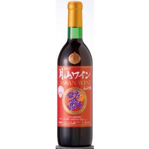 月山ワイン 山ぶどう酒 甘口 720ML|hinokinosato