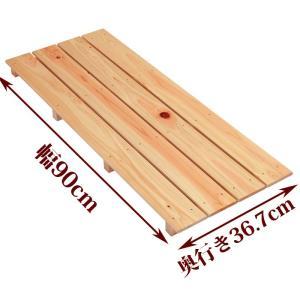 すのこ サイズ 90cm×36.7cm 国産ひのき スノコ ヒノキ 桧 檜 玄関 お風呂 更衣室