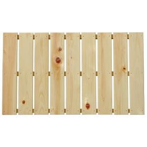 ベランダすのこ 幅85cm×奥行60cm 国産ひのき ラック 棚 板材 桧 ヒノキ 檜|hinokiya-pro