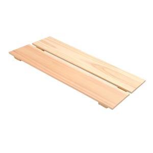 フラットすのこ サイズ 45cm×17.8cm 国産ひのき 押入れ スノコ クローゼット ヒノキ 桧 檜 玄関|hinokiya-pro