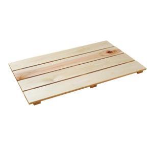 フラットすのこ サイズ 60cm×36.4cm 国産ひのき 押入れ スノコ クローゼット ヒノキ 桧 檜 玄関|hinokiya-pro