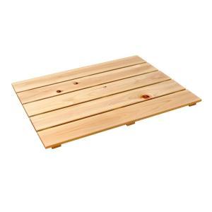 フラットすのこ サイズ 60cm×45.7cm 国産ひのき 押入れ スノコ クローゼット ヒノキ 桧 檜 玄関|hinokiya-pro