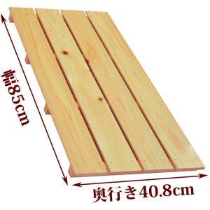 すのこ サイズ 85cm×40.8cm 国産ひのき ワケアリ スノコ ヒノキ 桧 檜 玄関 布団 広板|hinokiya-pro