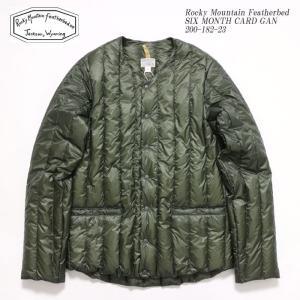 Rocky Montain Featherbed (ロッキーマウンテン フェザーベッド) シックスマンス カーディガン 200-182-23|hinoya-ameyoko