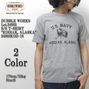 DUBBLE WORKS(ダブルワークス) Lot.34003 半袖Tシャツ