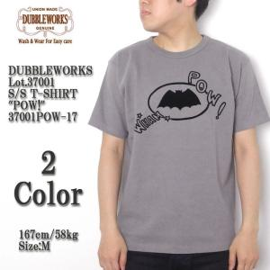 DUBBLE WORKS(ダブルワークス) Lot.37001 半袖Tシャツ