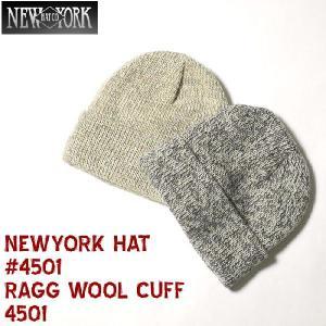 NEWYORK HAT(ニューヨークハット) ♯4501  RAGG WOOL CUFF 4501|hinoya-ameyoko