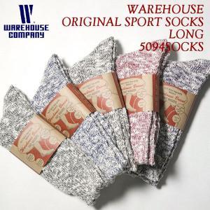 WAREHOUSE(ウエアハウス) ORIGINAL SPORT SOCKS LONG 5094SOCKS|hinoya-ameyoko