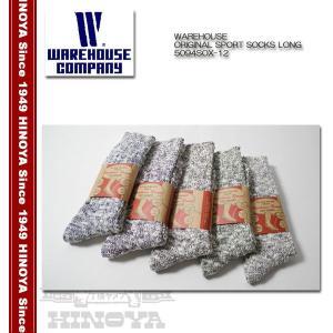 WAREHOUSE(ウエアハウス) ORIGINAL SPORT SOCKS LONG 5094SOX-12|hinoya-ameyoko