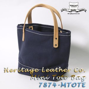 Heritage Leather Co. (ヘリテージ レザー) Lot.7874 Mini Tote Bag 7874-MTOTE|hinoya-ameyoko
