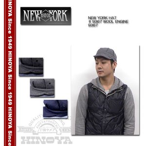 NEWYORK HAT(ニューヨークハット) ♯9367 『WOOL ENGINE』 9367|hinoya-ameyoko