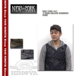NEWYORK HAT(ニューヨークハット) ♯9388 SQUARE ENGINNER 9388|hinoya-ameyoko
