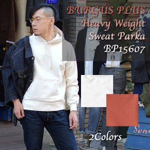 BURGUS PLUS(バーガスプラス) Heavy Weight Sweat Parka BP15607|hinoya-ameyoko