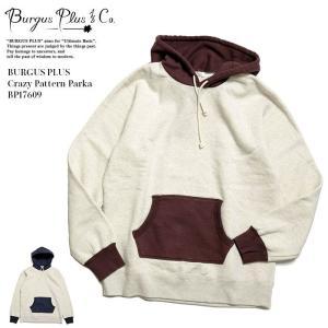 BURGUS PLUS(バーガスプラス) クレイジーパターン パーカー BP17609|hinoya-ameyoko