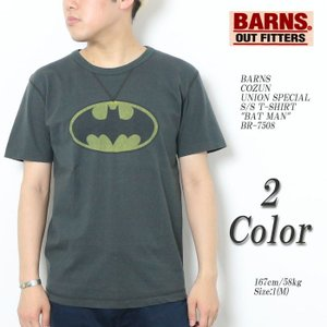 BARNS(バーンズ) 小寸 ユニオンスペシャル 半袖Tシャツ