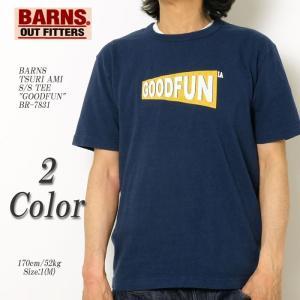 BARNS(バーンズ) 吊り編み 半袖 Tシャツ