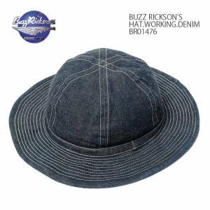 BUZZ RICKSON'S(バズリクソンズ) デニム ハット BR01476|hinoya-ameyoko