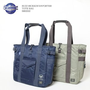 BUZZ RICKSON'S×PORTER (バズリクソンズ×ポーター) トートバッグ BR0253...