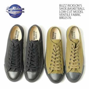 BUZZ RICKSON'S(バズリクソンズ) シューズ,バスケット ローカットモデル ベンタイル ファブリック BR02576 hinoya-ameyoko