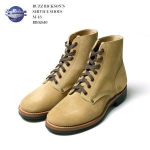 BUZZ RICKSON'S(バズリクソンズ) サービス シューズ M-43 BR02610|hinoya-ameyoko