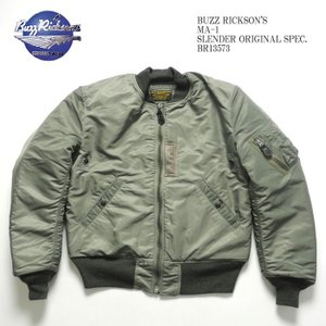 BUZZ RICKSON'S(バズリクソンズ) MA-1 スレンダー オリジナルスペック BR13573|hinoya-ameyoko