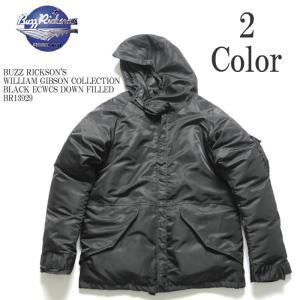 BUZZ RICKSON'S(バズリクソンズ) ウィリアム・ギブソンコレクション ブラック ECWCS ダウンフィールド BR13929|hinoya-ameyoko