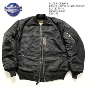 BUZZ RICKSON'S(バズリクソンズ) ウィリアム・ギブソンコレクション MA-1 1st (レギュラー) BR14166|hinoya-ameyoko