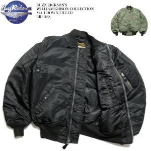 BUZZ RICKSON'S(バズリクソンズ) ウィリアム・ギブソンコレクション MA-1 ダウンフィールド BR14168|hinoya-ameyoko