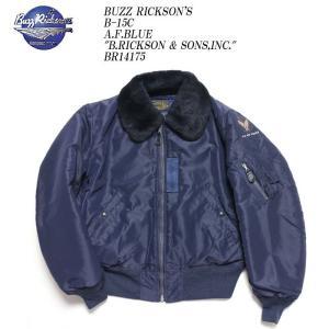 BUZZ RICKSON'S(バズリクソンズ) B-15C A.F.Blue